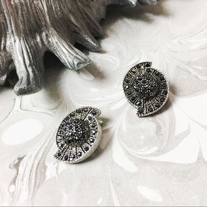 Constellation Marcasite Earrings